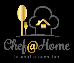 Logo chef@home servizio chef a domicilio di altà qualità